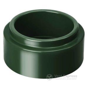 Адаптер трубы RainWay 130 мм, зеленый