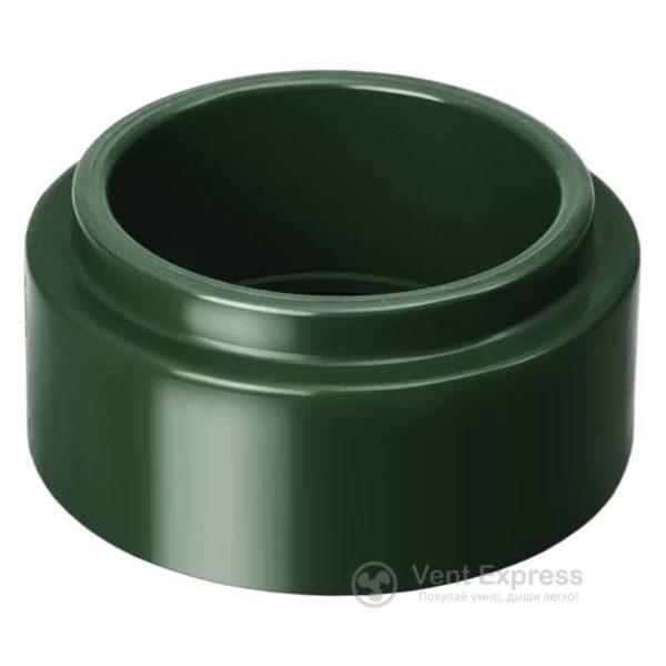 Адаптер трубы RainWay 90 мм, зеленый