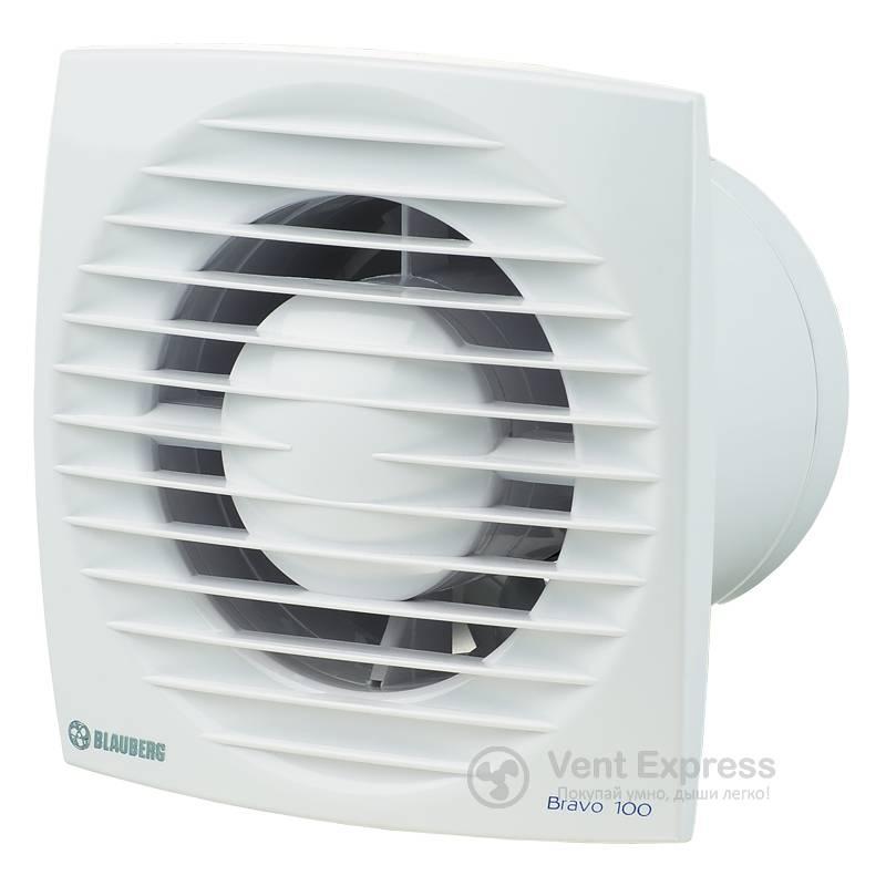Вытяжной вентилятор BLAUBERG Bravo 100 S