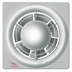 Вытяжной вентилятор Colibri FLIGHT 100 TH SILVER