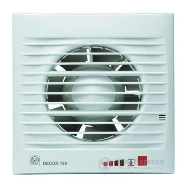Вытяжной вентилятор Soler&Palau DECOR-100 CHZ VISUAL