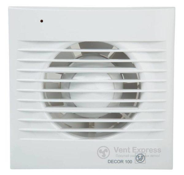 Вытяжной вентилятор Soler&Palau DECOR-100 CRZ