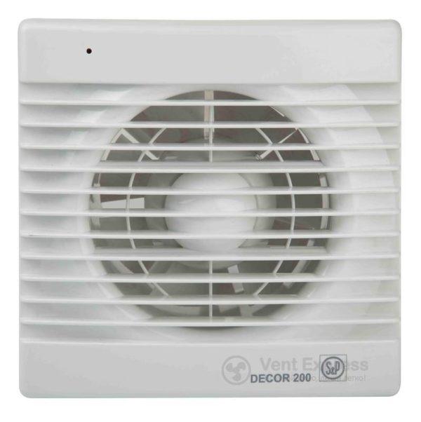 Вытяжной вентилятор Soler&Palau DECOR-200 CR