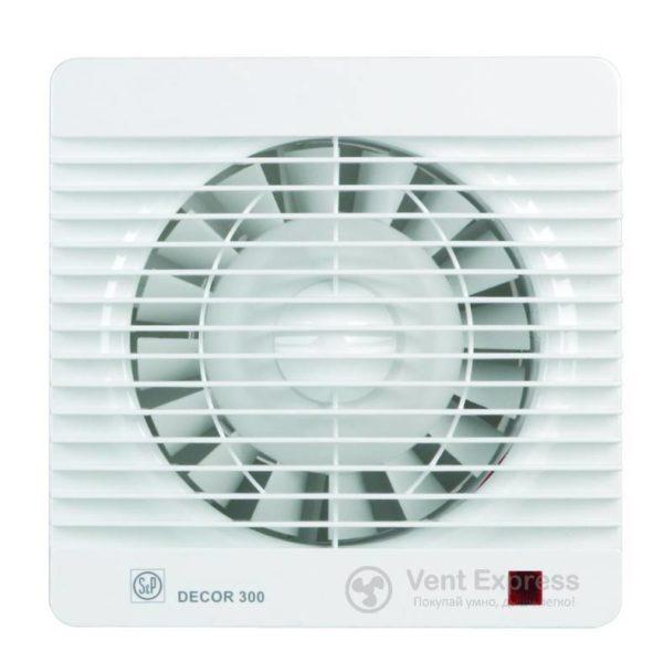 Вытяжной вентилятор Soler&Palau DECOR-300 HZ