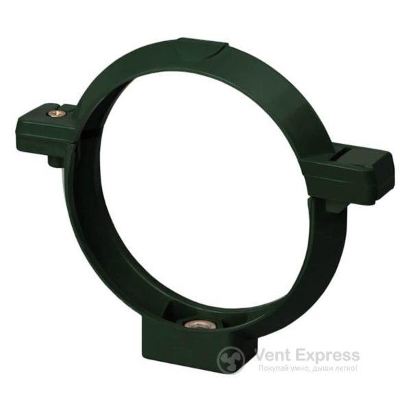 Кронштейн трубы RainWay 130 мм, зеленый