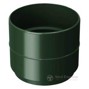 Муфта трубы RainWay 90 мм, зеленая