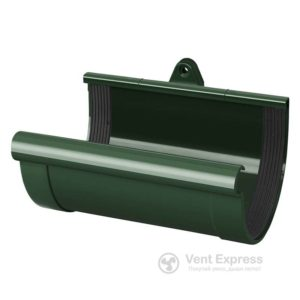 Муфта желоба RainWay 130 мм, зеленая