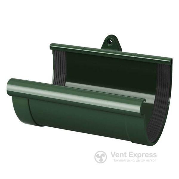 Муфта желоба RainWay 90 мм, зеленая
