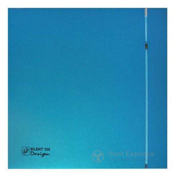 Вытяжной вентилятор Soler&Palau SILENT-100 CZ BLUE DESIGN 4C