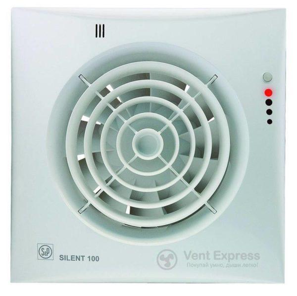 Вытяжной вентилятор Soler&Palau SILENT-100 CHZ VISUAL