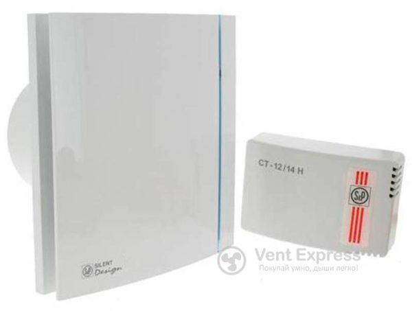 Вытяжной вентилятор Soler&Palau SILENT-100 CHZ DESIGN ECOWATT