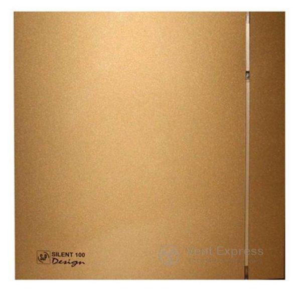 Вытяжной вентилятор Soler&Palau SILENT-100 CZ GOLD DESIGN 4C