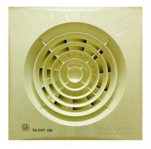 Вытяжной вентилятор Soler&Palau SILENT-100 CZ IVORY