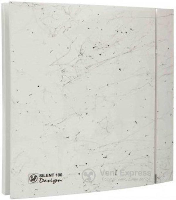 Вытяжной вентилятор Soler&Palau SILENT-100 CZ MARBLE WHITE DESIGN 4C