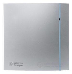 Вытяжной вентилятор Soler&Palau SILENT-100 CHZ SILVER DESIGN