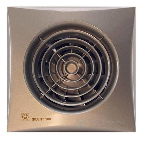 Вытяжной вентилятор Soler&Palau SILENT-200 CZ CHAMPAGNE
