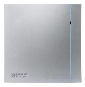 Вытяжной вентилятор Soler&Palau SILENT-200 CHZ SILVER DESIGN 3C