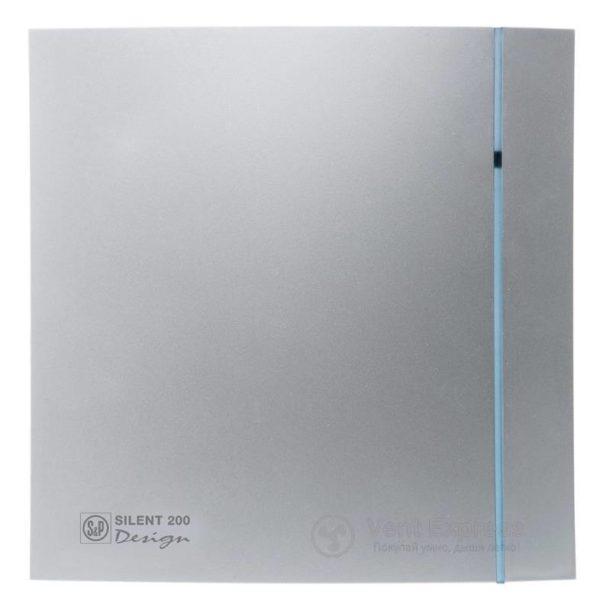 Вытяжной вентилятор Soler&Palau SILENT-200 CZ SILVER DESIGN 3C