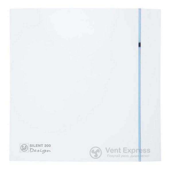 Вытяжной вентилятор Soler&Palau SILENT-200 CRZ DESIGN 3C