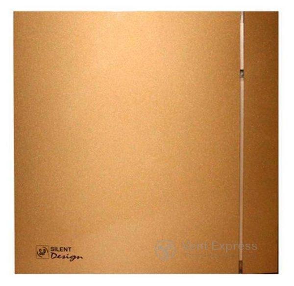Вытяжной вентилятор Soler&Palau SILENT-200 CZ GOLD DESIGN 4C