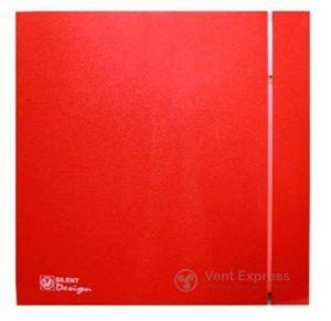 Вытяжной вентилятор Soler&Palau SILENT-200 CZ RED DESIGN 4C