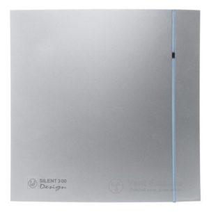 Вытяжной вентилятор Soler&Palau SILENT-300 CHZ SILVER DESIGN 3C