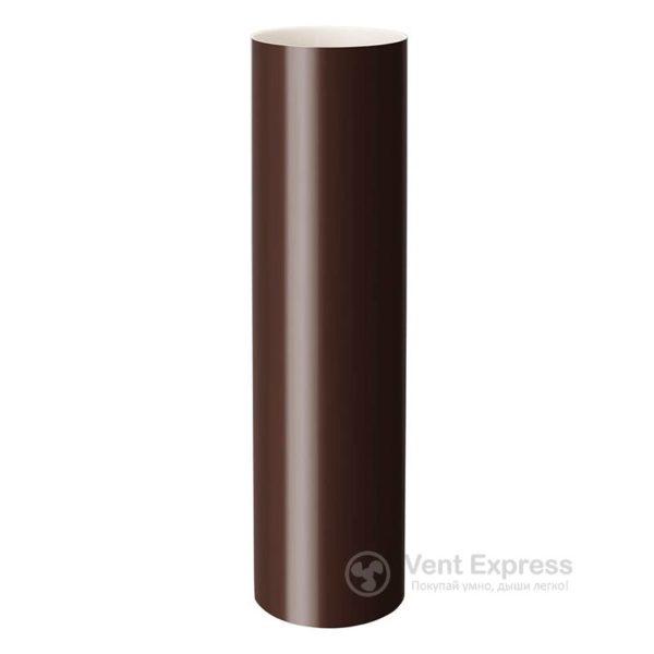Труба водосточная Rainway 130×1000 мм, коричневая