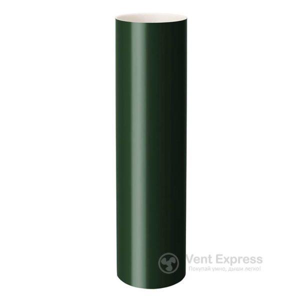 Труба водосточная Rainway 130×1000 мм, зеленая