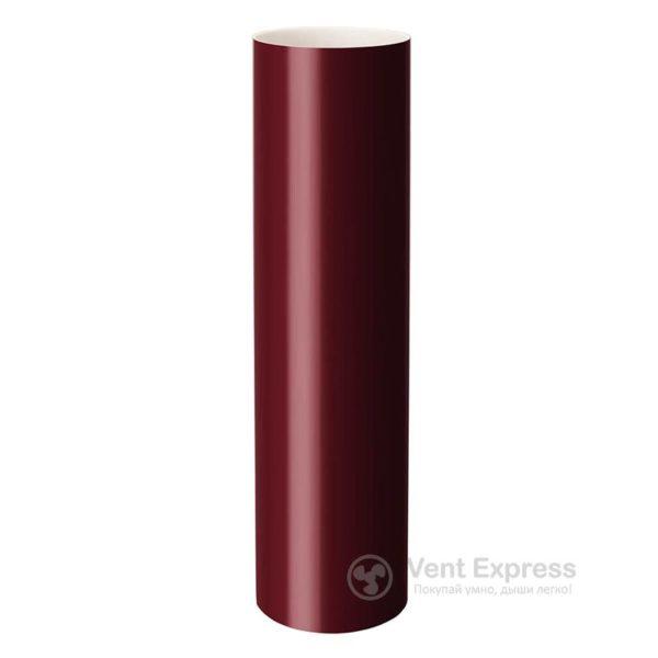 Труба водосточная RainWay 90×1000 мм, красная