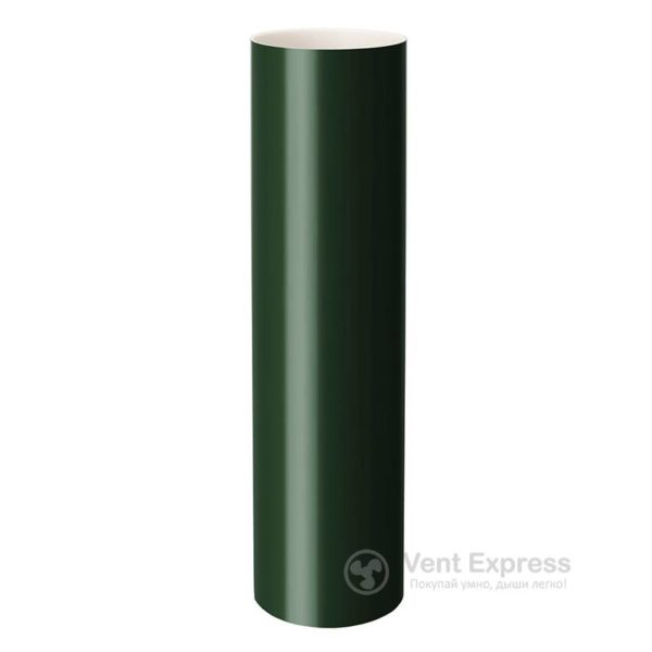 Труба водосточная RainWay 90×1000 мм, зеленая