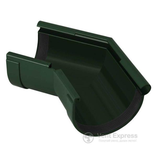 Угол желоба RainWay наружный 135° 130 мм, зеленый