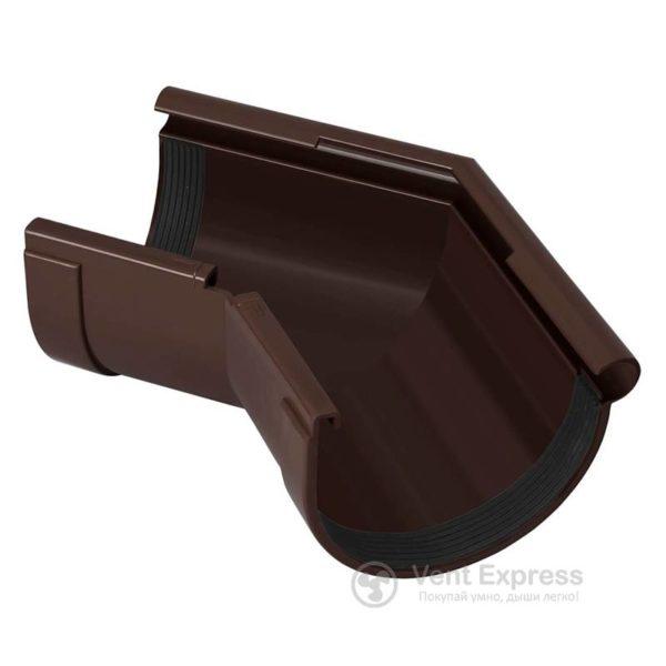 Угол желоба RainWay наружный 135° 90 мм, коричневый