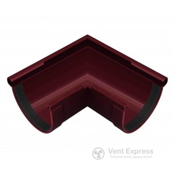 Угол желоба RainWay наружный 90° 90 мм, красный