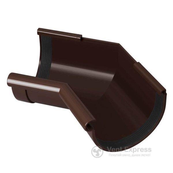 Угол желоба RainWay внутренний 135° 130 мм, коричневый