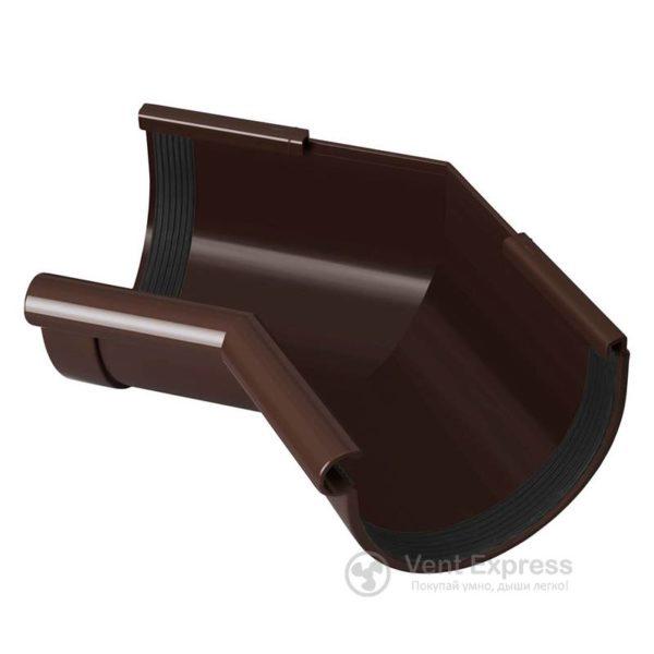 Угол желоба RainWay внутренний 135° 90 мм, коричневый