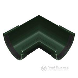 Угол желоба RainWay внутренний 90° 130 мм, зеленый