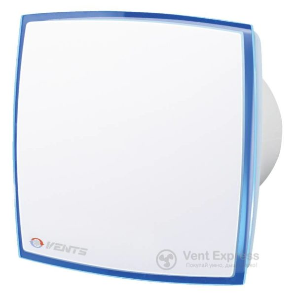Вытяжной вентилятор VENTS 100 ЛД Лайт синий