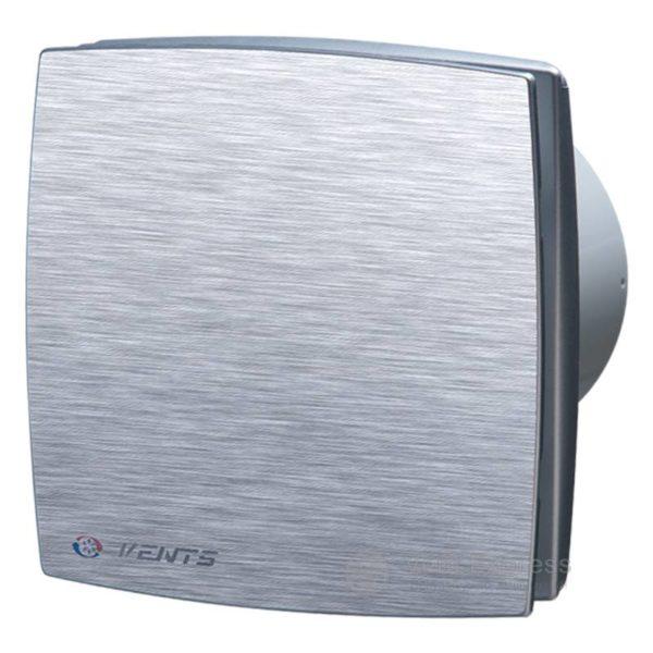 Вытяжной вентилятор VENTS 125 ЛДА алюм. мат.