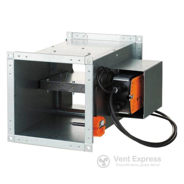 Клапан противопожарный огнезадерживающий VENTS КП-1-0-Н-300×250-2-BLF230-T-CH-0