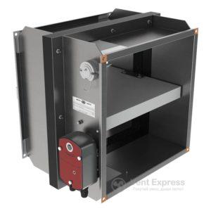 Клапан противопожарный огнезадерживающий VENTS КП-2-О-Н-1000х800-2-BF230-T-СН-О