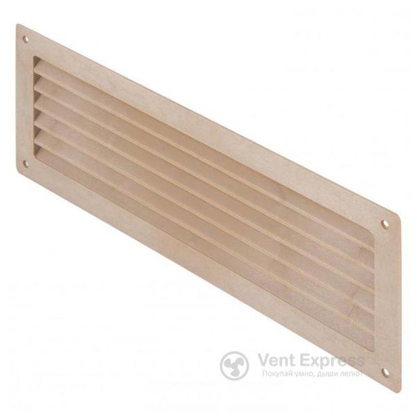 Приточно-вытяжная решетка дверная VENTS МВ 350с дуб светлый