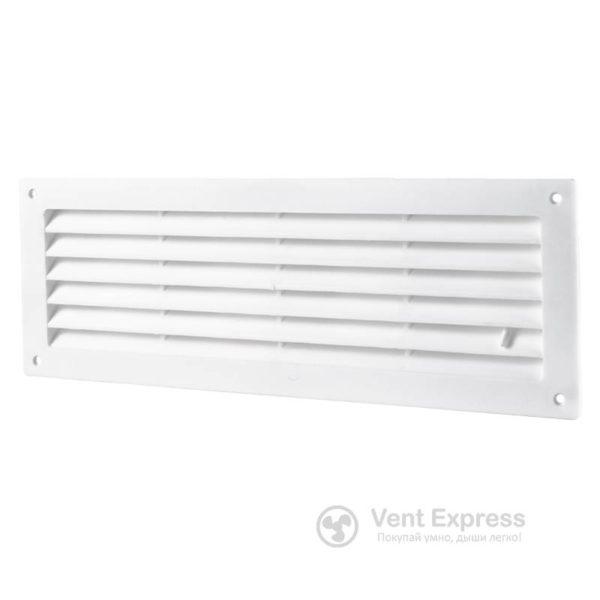 Приточно-вытяжная решетка дверная регулируемая VENTS МВ 350Р/2
