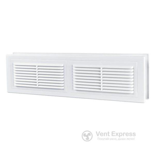 Приточно-вытяжная решетка дверная VENTS МВ 380/2