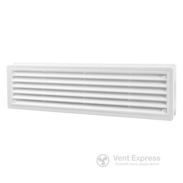 Приточно-вытяжная решетка дверная VENTS МВ 440/2 П/П