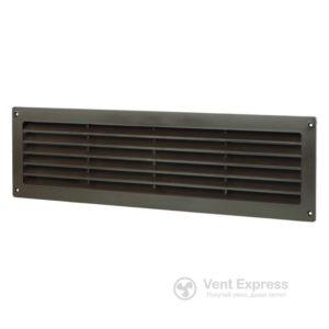 Приточно-вытяжная решетка дверная VENTS МВ 450 коричневая