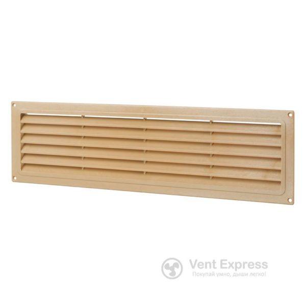 Приточно-вытяжная решетка дверная VENTS МВ 450 дуб светлый