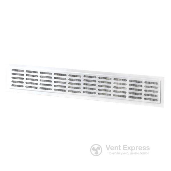 Приточно-вытяжная решетка металлическая дверная VENTS МВМ 250х80/5-3