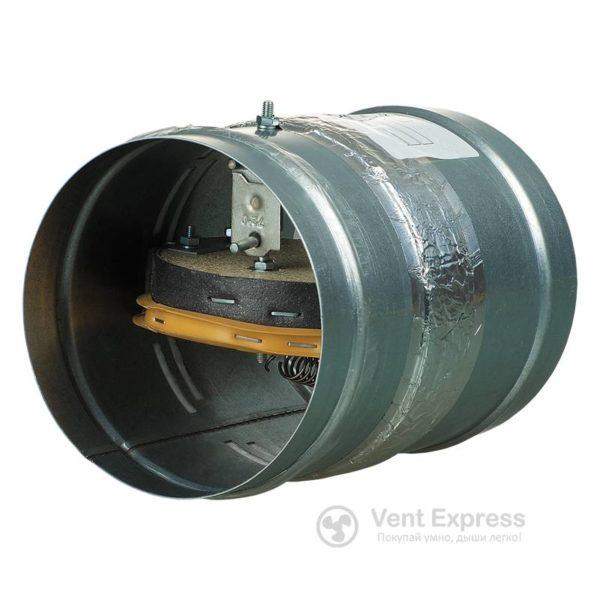 Клапан противопожарный огнезадерживающий VENTS ПЛ-10-1А-ДН 160