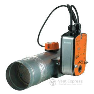 Клапан противопожарный огнезадерживающий VENTS ПЛ-10-2-BLF230-T (BLF24-T)-ДН 315