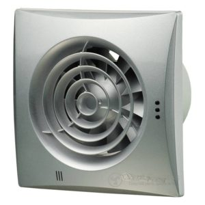 Вытяжной вентилятор VENTS 125 Квайт Т алюм. мат